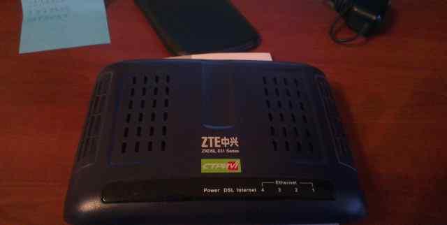 Модем ZTE zxdsl 831 CII