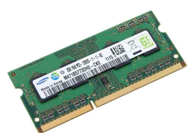 Samsung SO-dimm DDR3 1333 мгц (2x2Гб)