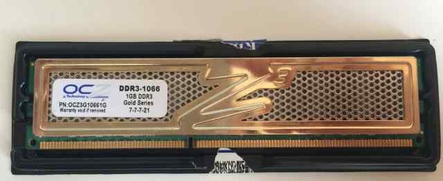 Оперативная память Kingston DDR3 1Gb 1066MHz