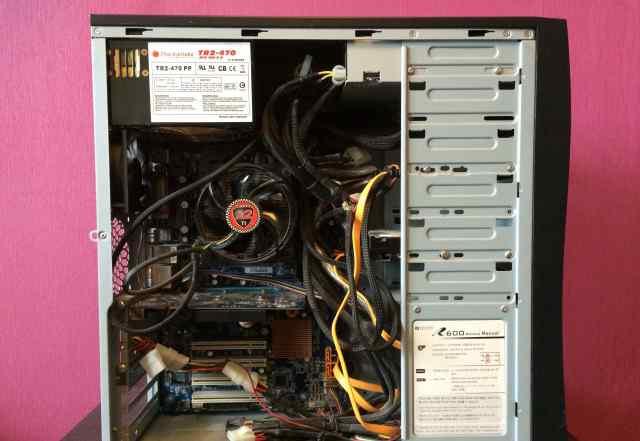 Системник 2Core AMD 2.6GHz/4GB/64GB SSD/500GB HDD