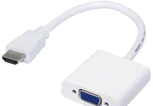 Переходник, адаптер, конвертер hdmi VGA