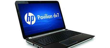 Ноутбук HP pavilion DV7-6053ER. игровой 17.3