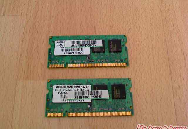Elpida DDR2-667 SO-dimm (для ноутбука)