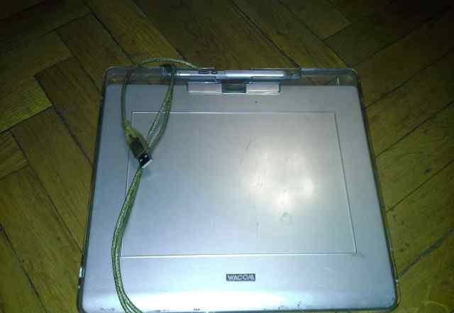 Графический планшет wacom cte-640 silver