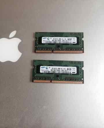 Оперативка для MacBook 4GB