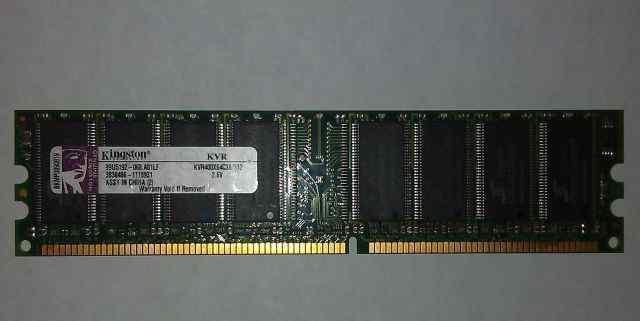 DDR 512 MB Kingston KVR400X64C3A/512 (15 модулей)