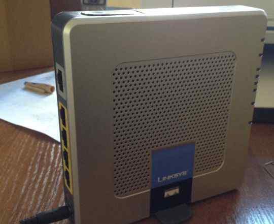 Wi-Fi Роутер Linksys Wireless-G adsl WAG354G