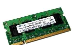 Samsung 512Mb 2Rx16 PC2-4200S-444-12-A3