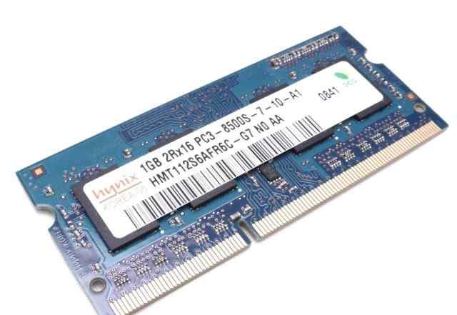 Hynix 2GB 2RX16 PC3-8500S-7-10-A1 (DDR3 - 1067MHz)