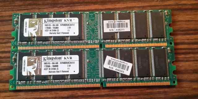 Kingston DDR 400 1 GB (2x512MB)