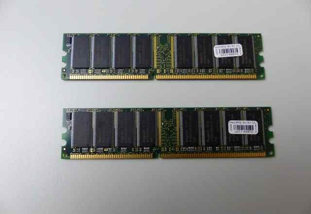 оперативную память DDR - 1 (2 Гб )