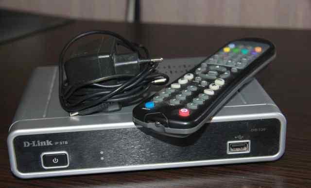Цифровая телевизионная IP-приставка D-Link DIB-120