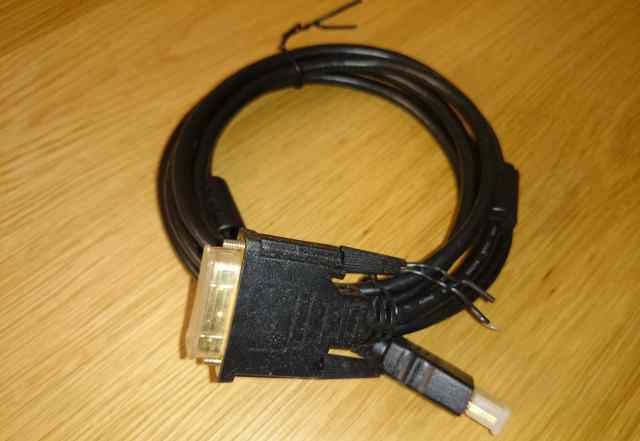 Шнур-удлинитель hdmi-DVI (1 метр)