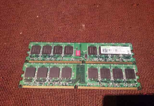 KingMax 1GB DDR2-800 (kldd48F-A8KB5) - 2шт