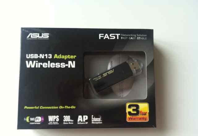 USB Wi-Fi адаптер asus USB-N13