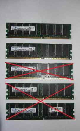 Модуль памяти DDR и DDR2
