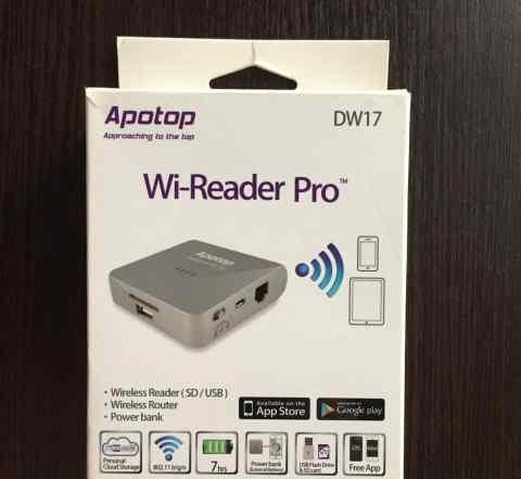 Картридер Wi-Fi Apotop DW17