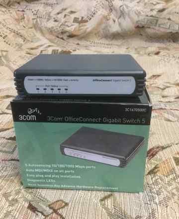 Hp/3com OfficeConnect Gigabit Switch 5 3C1670500C