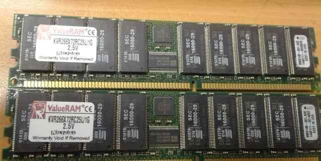 1GB Kingston KVR266X72RC25L/1G 2.5V