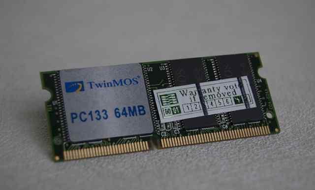 Память для ноутбука Twinmos PC133 64MB