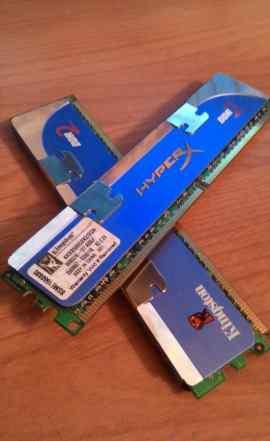 Модули памяти Kingston HyperX DDR2