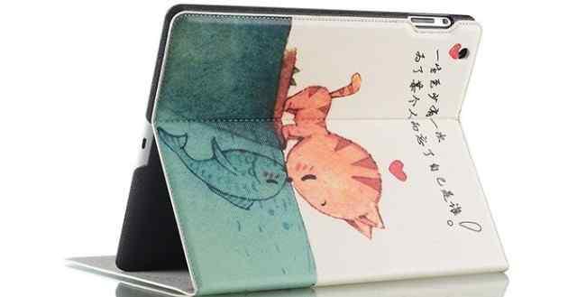 Обложка на iPad 1.2.3