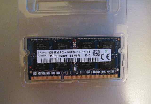 Модуль памяти для ноутбука SO-dimm DDR3 4Gb
