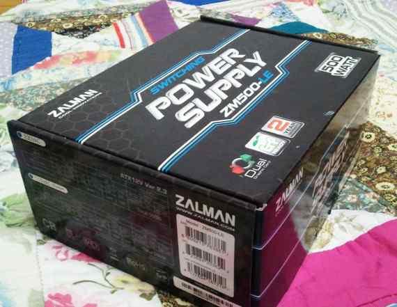 Блок питания для компьютера Zalman ZM500-LE 500W