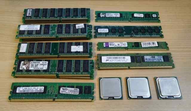 Разная память ddr, ddr2, ddr3, серверная HP