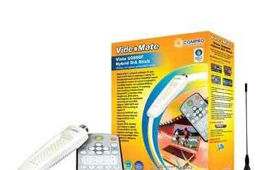 Тв-тюнер Compro VideoMate Vista U2800F без пульта