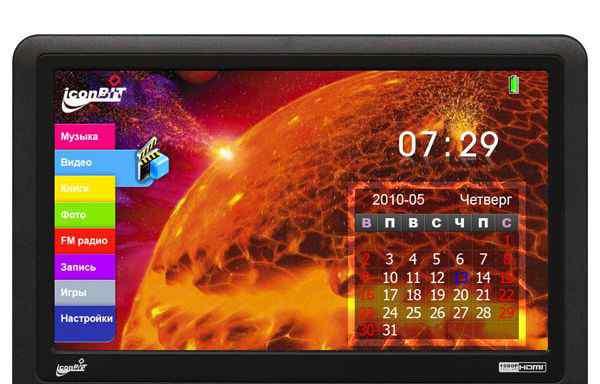 Мультимедийный плеер iconBIT HMP705hdmi 16Gb
