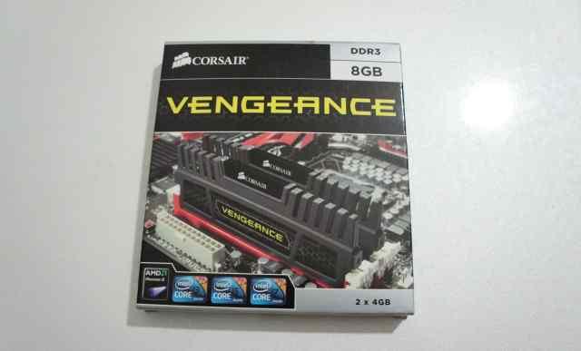 Corsair Vengeance DDR3 8Gb CMZ8GX3M2A1600C8