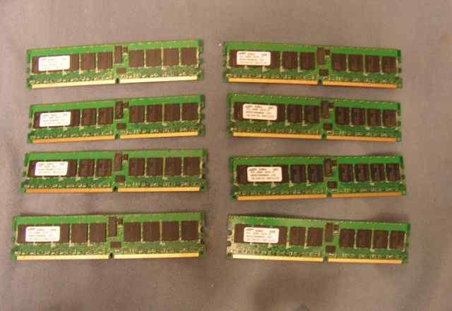 1GB DDR2 PC2 -3200 CL3 ECC