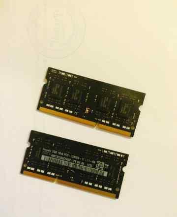 2 х 2gb DDR3 Hynix 1600MHz PC3-12800