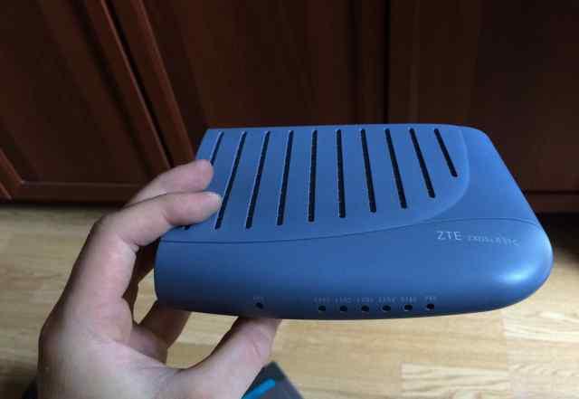 2 роутера ZTE