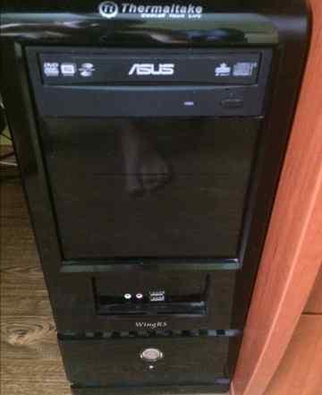 Компьютер (Core 2 Quad 2.5/4Gb/SSD/HDD) и Монитор