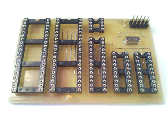 Адаптер для программирования мк AVR в DIP корпусах