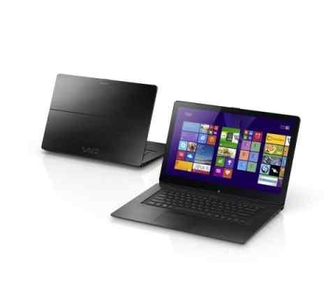 Ноутбук Sony vaio SVF-15N2D4RB черный