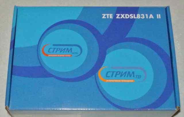Модем ZTE zxdsl 831 A II