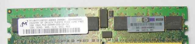 Для сервера dimm DDR2 PC2-3200R-333-12-C0 ECC REG