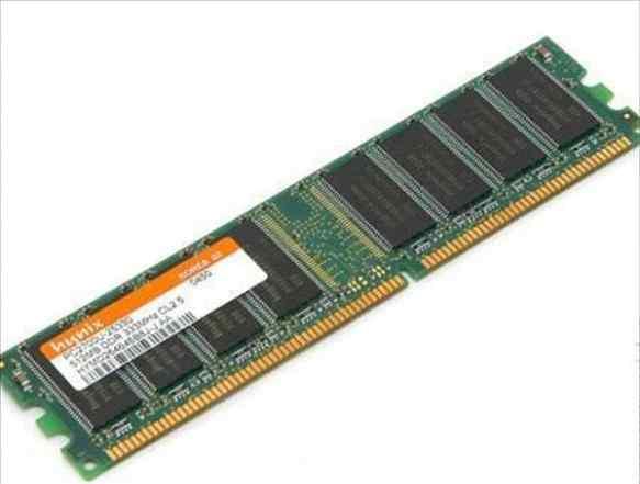 Оперативная память ddr1 hynix 3 шт. по 512 мб