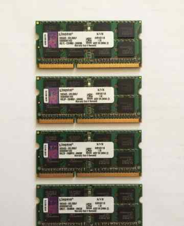 Память Kingston DDR3 32GB