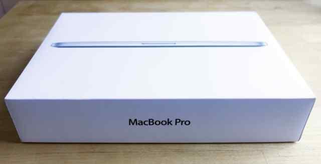 Коробка от MacBook Pro 13