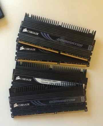 8GB corsair dominator DDR3 1600MHz 4x2GB