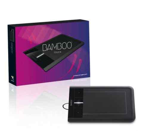 Новый графический планшет Wacom Bamboo Touch