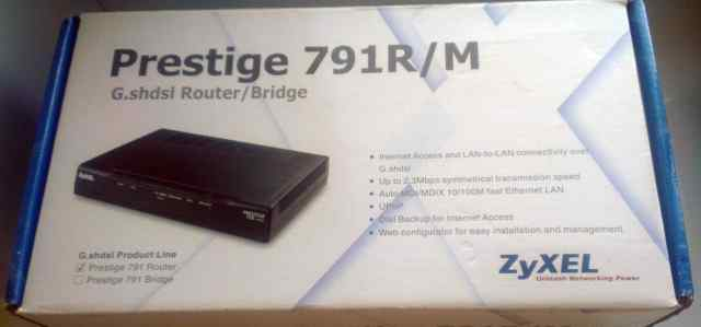 Продаю новый shdsl модем ZyXel H791R ее