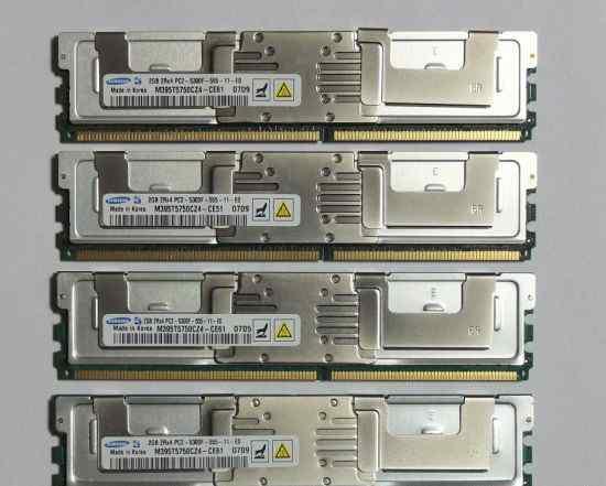 Cерверная память fbdimm 2Gb 2Rx4 PC2-5300F-555-11