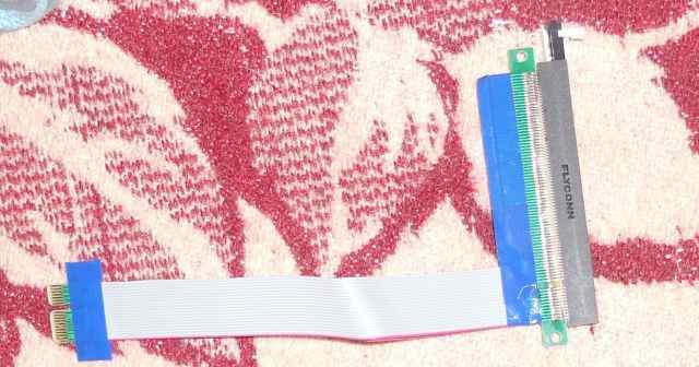PCI-E 1x - 16x рейзер