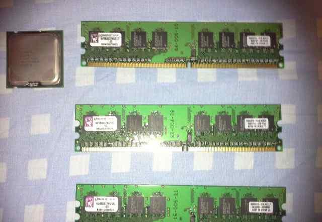 Оперативная память DDR 2 Kingston KVR800DN5/512