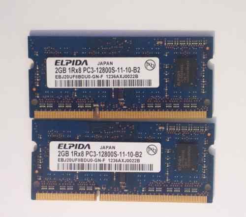 Память для MAC 4GB DDR3 2 x 2GB 1600Mhz
